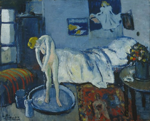 Pablo Picasso, The Blue Room, 1901 © Estate of Pablo Picasso / ARS, New York