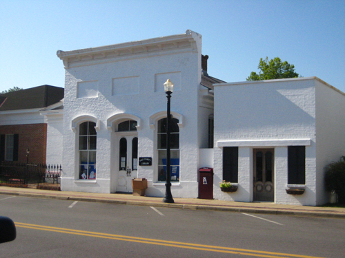 Hale County Library, Main Street, Greensboro