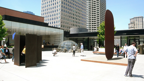 Secret Hidden Theme to the SFMOMA Sculpture Garden