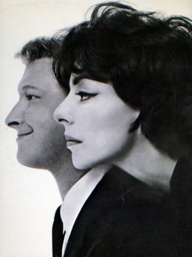 Richard Avedon, Mike Nichols and Elaine May, 1962