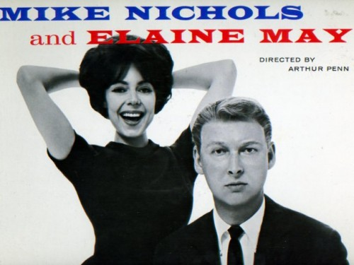 Richard Avedon, Mike Nichols and Elaine May, 1960 (From the cover of 'An Evening with Mike Nichols and Elaine May,' Mercury Records 1960