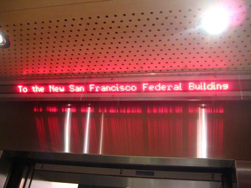 Elevator LED