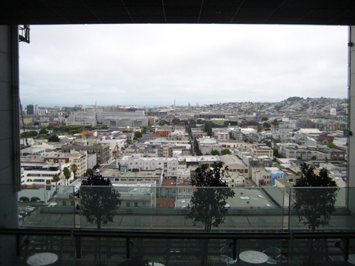 View of San Francisco from the Skygarden