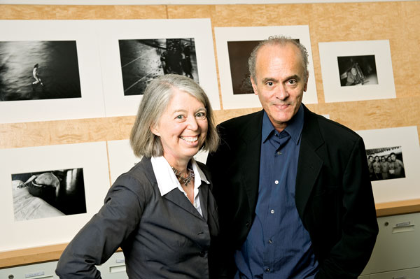 Sandra S. Phillips and W.S. Di Piero; photo: Winni Wintermeyer