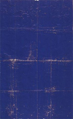 "David Ireland  ""Folded Paper Landscape"" , 1973"