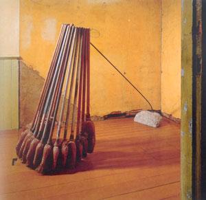 David Ireland, Broom Collection With Boom, 1978/88