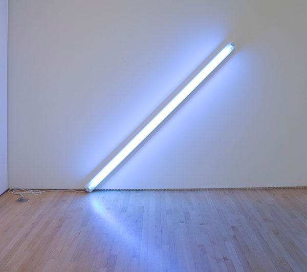 Dan Flavin, The Diagonal of May 25, 1963