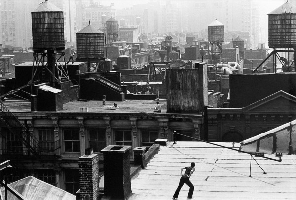 Trisha Brown_Roof Piece 1973