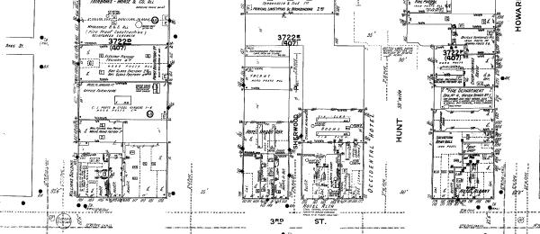 Sanborn Map, 1910