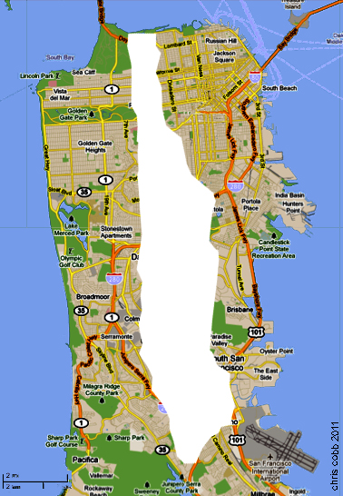 length of manhattan island