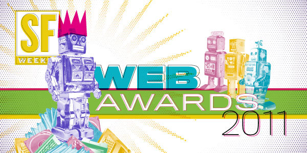Hey! Open Space has been nominated for a 2011 Web Award