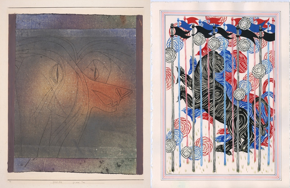 Images in Dialogue: Paul Klee and Andrew Schoultz