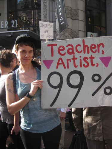 Artists of the 99%: A Call to Action