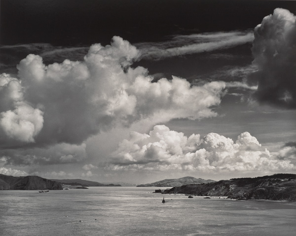 Ansel Adams: The Golden Gate Before the Bridge