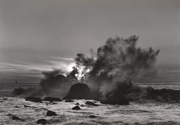 Pirkle Jones: Breaking Wave, Golden Gate