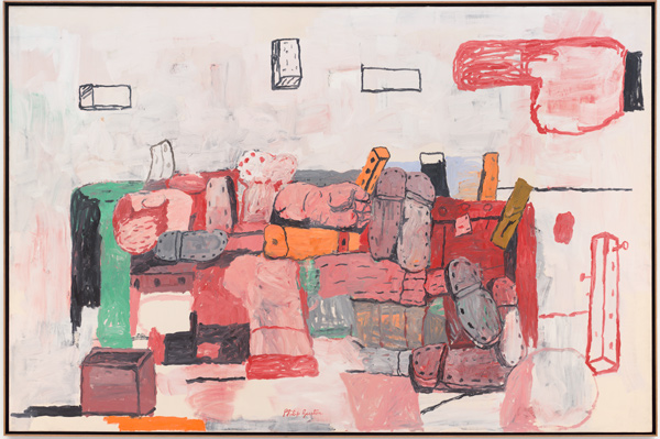 Philip Guston, Evidence, 1971. Acquired 1982 Collection SFMOMA Gift of the artist © Estate of Philip Guston