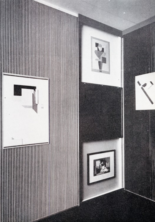 Proposal for a Museum: El Lissitzky's Kabinett der Abstrakten