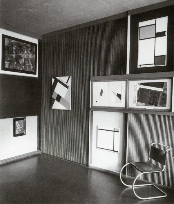 proposal for a museum el lissitzky s kabinett der abstrakten open space. Black Bedroom Furniture Sets. Home Design Ideas