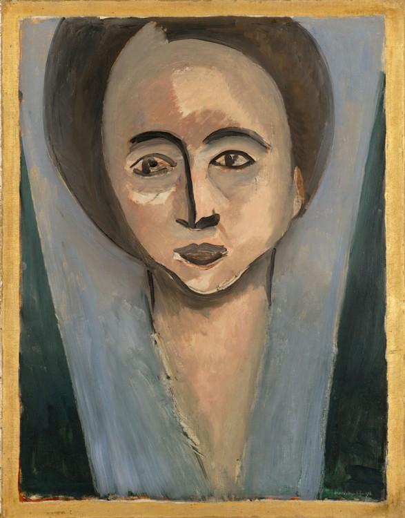 Henri Matisse, Portrait de Sarah Stein (Portrait of Sarah Stein), 1916