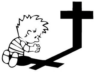 Praying Calvin