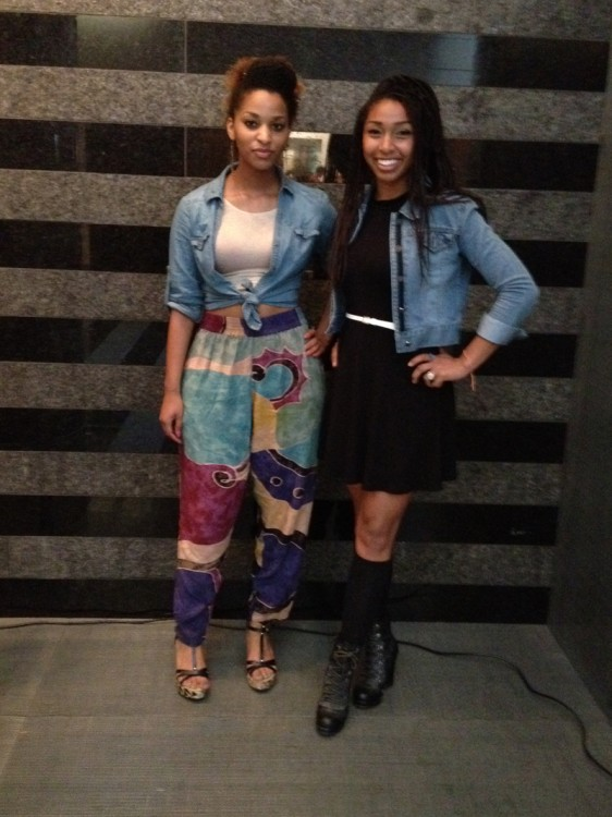 Great Looks in the Galleries: Iman H. and Briana B.