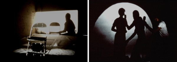 Al Wong, composite of _Shadow and Chair_, 1979 and _Moon Stand_, 1980