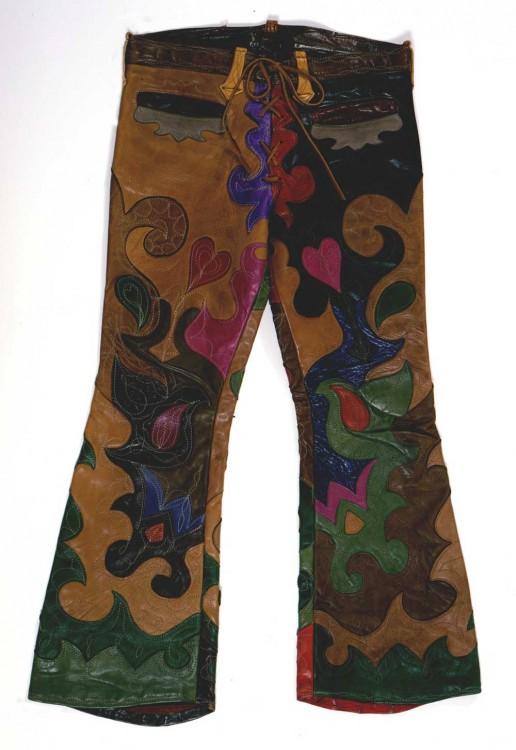 Karen Calden Fulk, Psychedelic Leather Pants, 1971