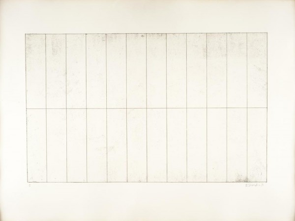 Brice Marden, Ten Days, Suite J, 1971