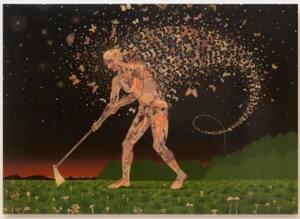 Fred Tomaselli, Field Guides, 2003