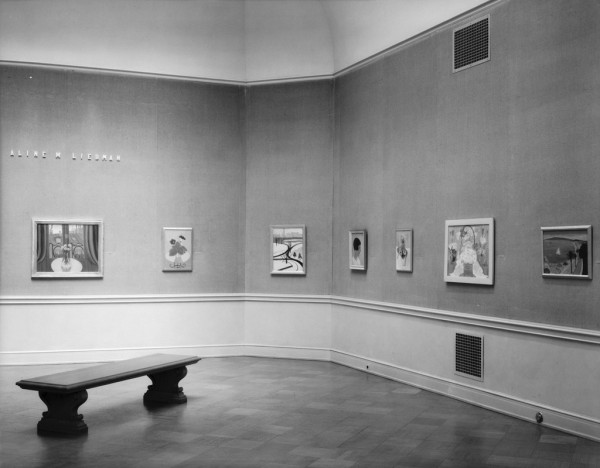 Aline Meyer Liebman exhibition at SFMOMA, 1937