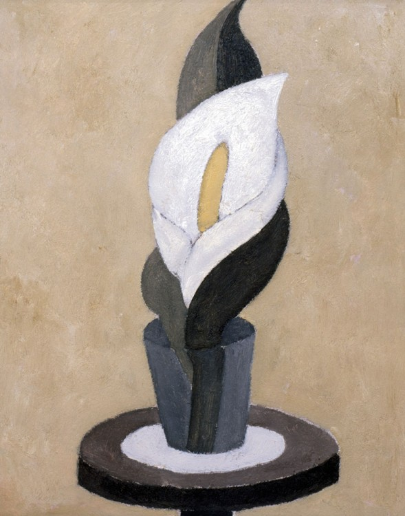 Marsden Hartley, Still Life (The Lily), ca. 1916-1917