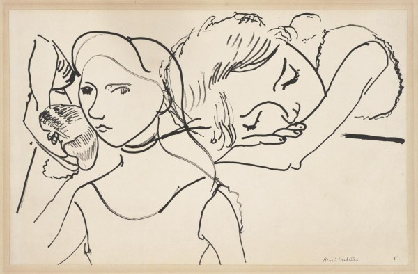 Henri Matisse, Marguerite in Three Poses, 1906