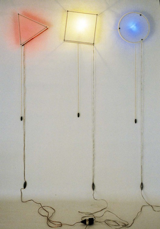 Jeff Benedetto, Three Sconces, 1988