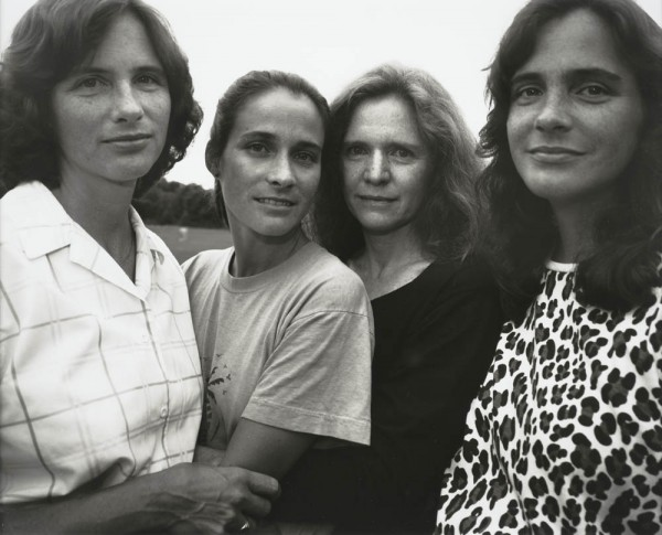 Nicholas Nixon, The Brown Sisters, Wellesley, Massachusetts, 1988