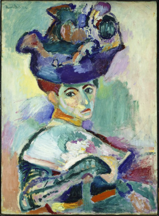 Henri Matisse, Femme au chapeau (Woman with a Hat), 1905