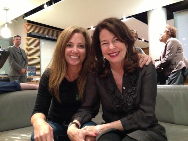 Jennifer Ferro, left, and Davia Nelson, right