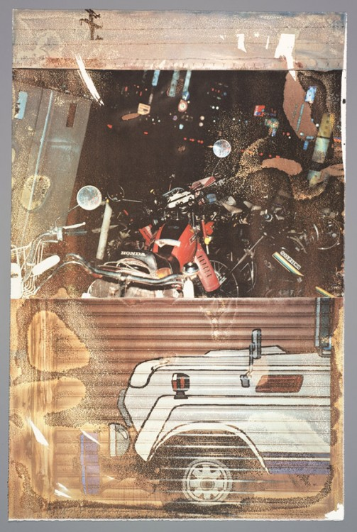 Robert Rauschenberg, Technology (Tribute 21), 1994