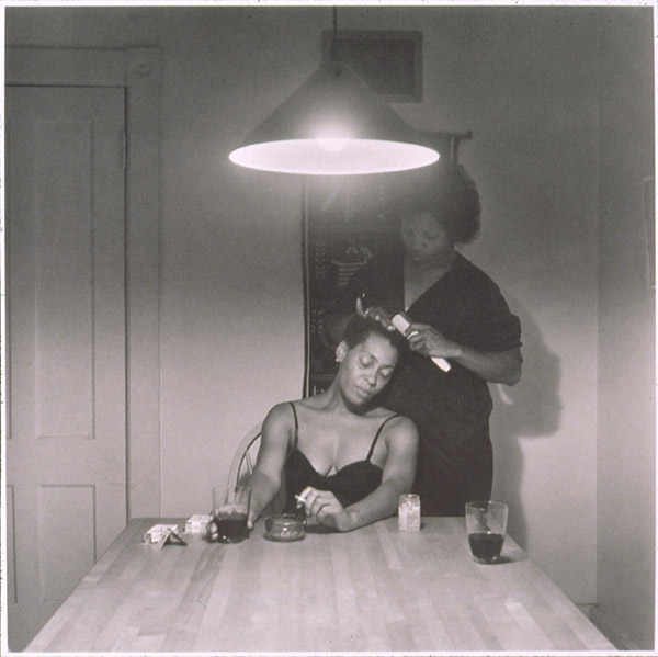 Carrie Mae Weems, Untitled [Woman Brushing Hair], 1990