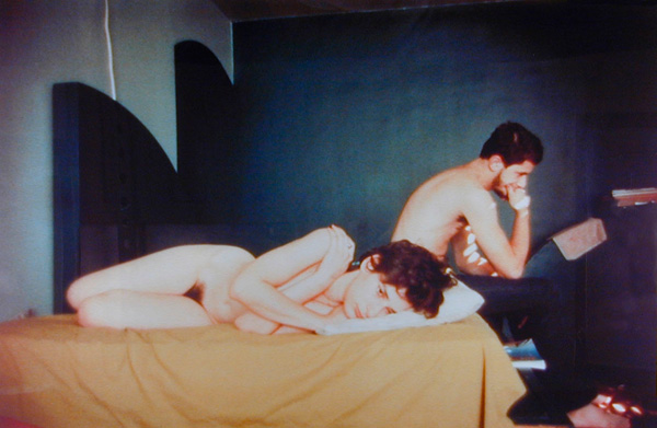 Nan Goldin, Couple in Bed, Chicago, from series The Ballad of Sexual Dependency, 1977