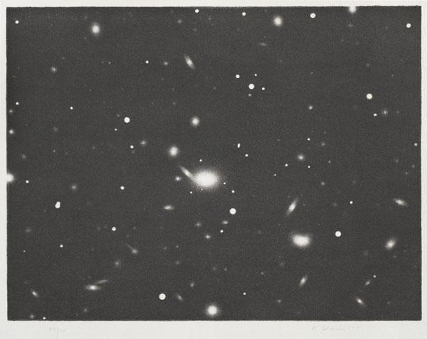 Vija Celmins, Untitled (Galaxy), from the portfolio Untitled, 1975, 1975vija celmins_web