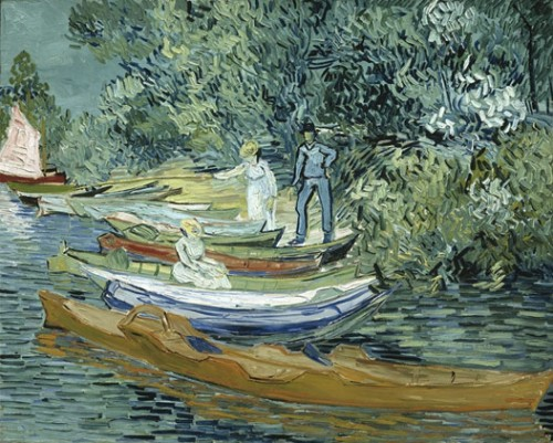 Bank of the Oise at Auvers, Vincent van Gogh, 1890