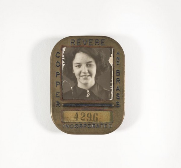 Unknown, Untitled [Identification badge from Revere Copper and Brass Incorporated], after 1929