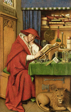 St. Jerome In His Study, Jan van Eyck, 1435