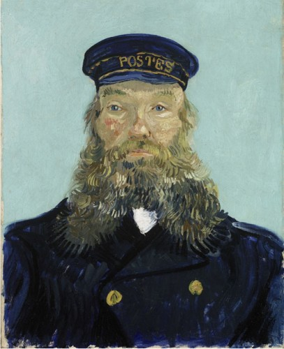The Postman Vincent Van Gogh, 1888