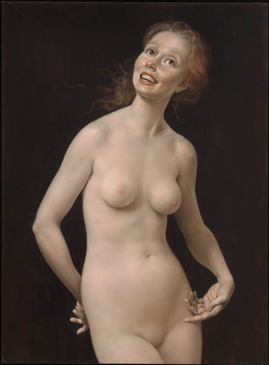 John Currin, Laughing Nude, 1998
