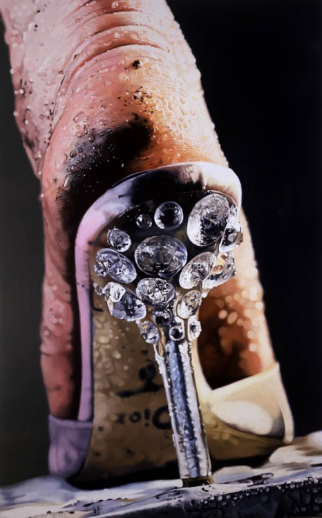 Marilyn Minter, Strut, 2004-2005