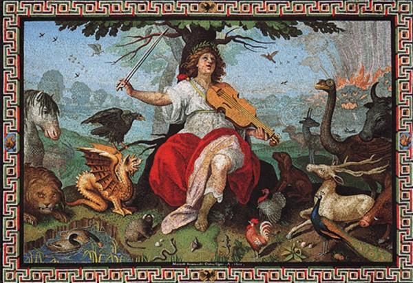 Marcello Provenzale, Orfeo quale Scipione Borghese, 1608