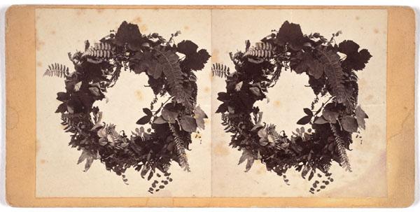 Eadweard Muybridge, Untitled [Wreaths], n.d.