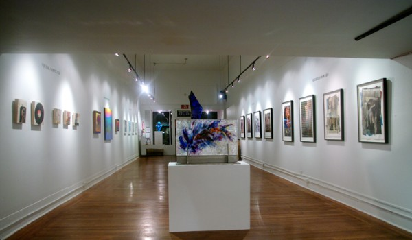 "Joyce Gordon Gallery's Interior for the ""ThEN is Now"" Exhibit"