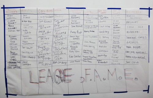 League Of F.A.M.E.© Inaugural Season - Final Standings